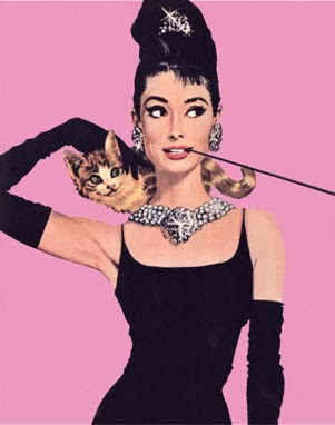 Holly Golightly iconic image in the film